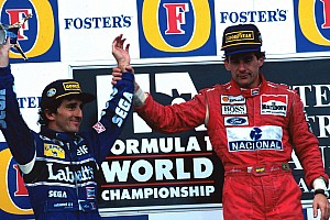 Gallery: Senna and Prost's last F1 podium