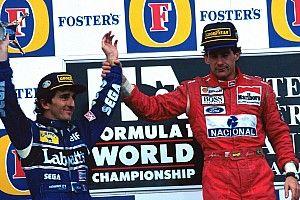 Photos - Senna/Prost, l'ultime podium en F1