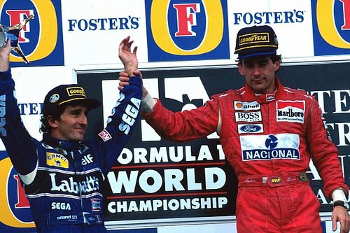 Photos - Senna/Prost, l'ultime podium en F1