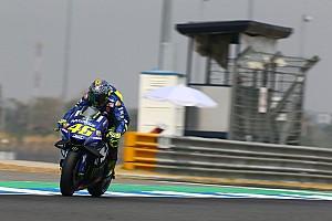 MotoGP Réactions Un classement lointain pour Rossi, qui n'a pas suffisamment progressé