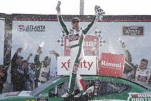 NASCAR XFINITY Race report Kevin Harvick cruises to the win in Atlanta Xfinity race