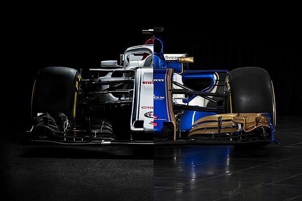 Forma-1 Elemzés Sauber C36 Vs. Sauber C37: F1 2017 Vs. F1 2018