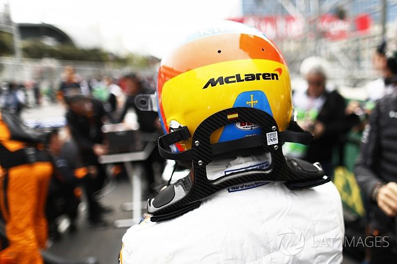 Ezzel a sisakkal megy Alonso a WEC-ben