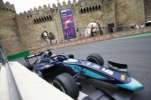 A podium for Nicholas Latifi in Baku