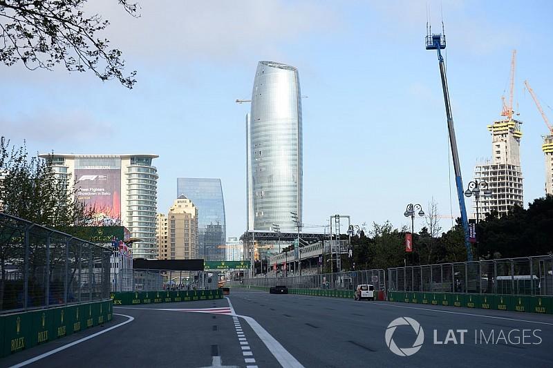 La FIA cambia la entrada de boxes en Bakú tras las quejas de los pilotos