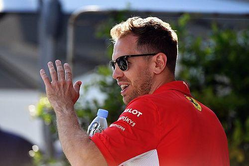 """Vettel brinca sobre Ricciardo na Ferrari: """"É um bom garoto"""""""