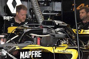 ルノー、ハロ搭載ミラーのデザインを修正もカナダGPでの使用は未定?