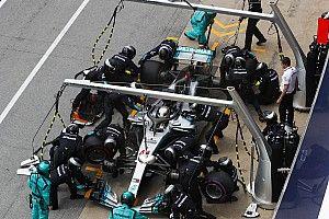 Mercedes: ecco come è stato salvato il motore surriscaldato di Hamilton!