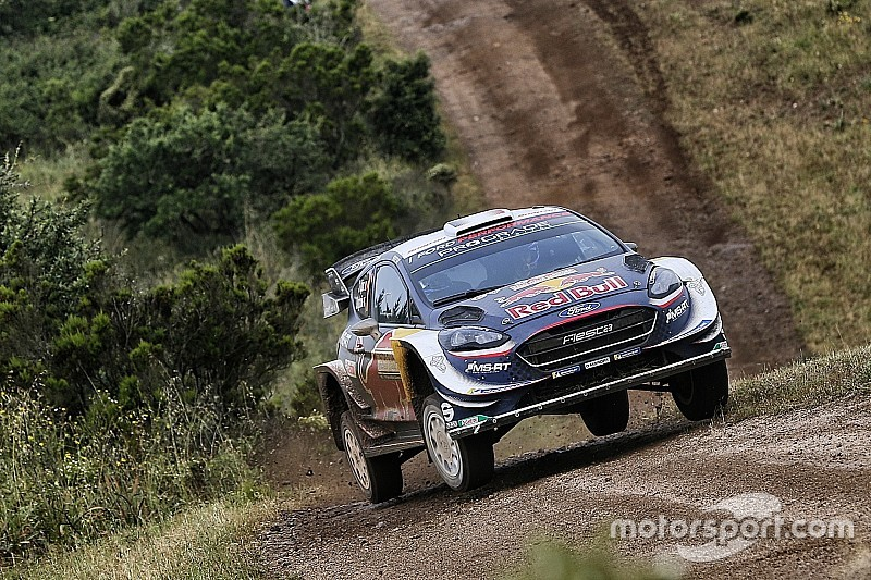 Italy WRC: Ogier takes four-second lead into final day