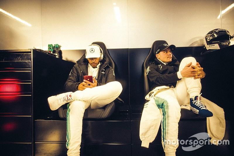 Bottas, Hamilton'la Mercedes'te kalmak istiyor