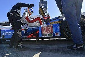Toutes les photos d'Alonso en piste à Daytona
