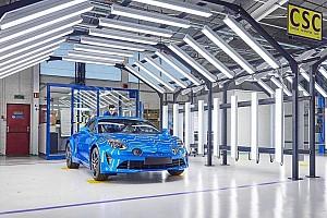 Alpine A110 - La production divisée par deux dès janvier 2020