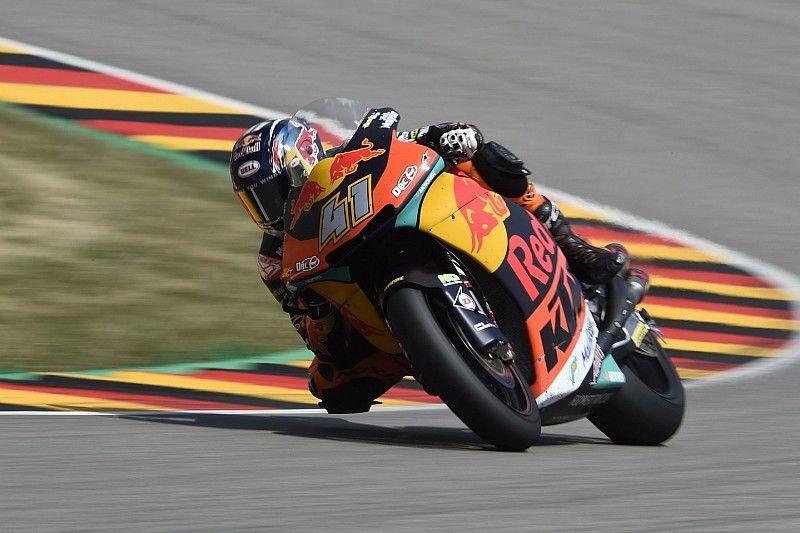 Binder se estrena en Moto2 y Mir vuelve a subir al podio