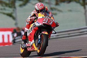 Marc Marquez: 2017er-Honda war auf dem Sachsenring stärker