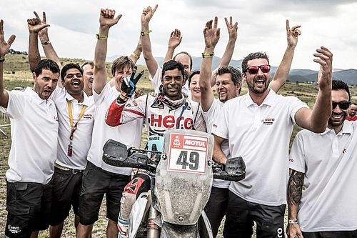 Dakar 2018: Santosh finishes career-best 34th, Hero beats TVS