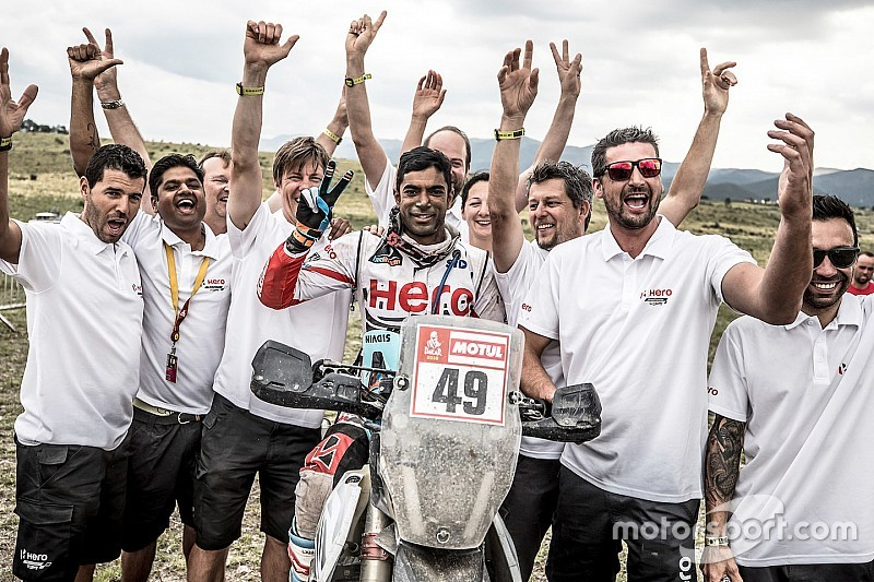 Dakar 2018: Santosh finishes career-best 34th, Hero beats TVS