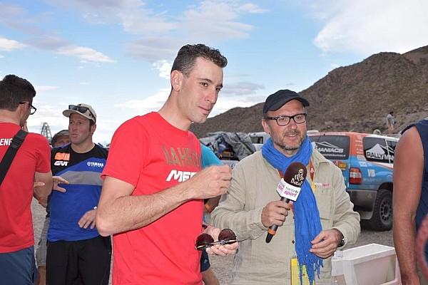 Dakar, sorpresa al bivacco di San Juan: il campione di ciclismo Nibali!