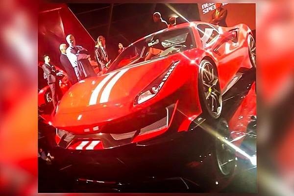 Auto Actualités La Ferrari 488 Special Series fuite sur internet!