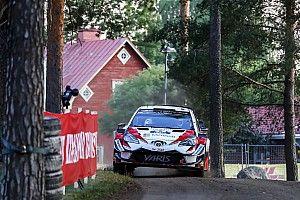 """Finlandia, PS9: tripletta Toyota e Tanak torna in testa alla corsa con 1"""" di vantaggio su Ostberg!"""