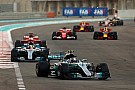 F1 set to introduce minimum driver weight in 2019