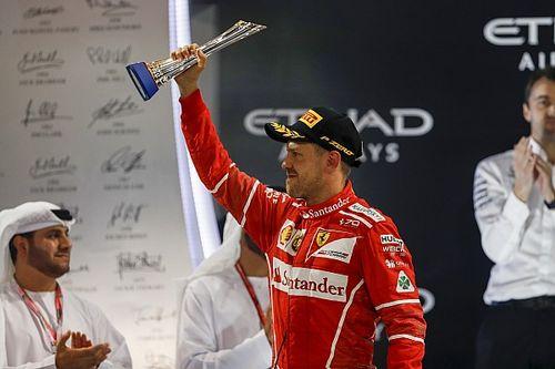 Vettel spectateur du doublé intouchable des Mercedes