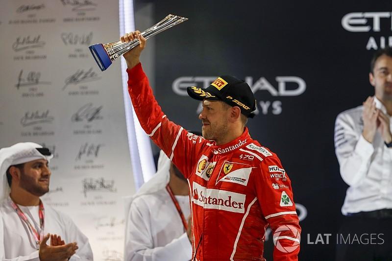 """Vettel: """"Ferrari no se va de vacaciones, queremos ganar en 2018"""""""