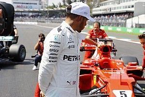 """Hamilton: """"La Rossa bella da vedere in pista, non semplice da battere"""""""