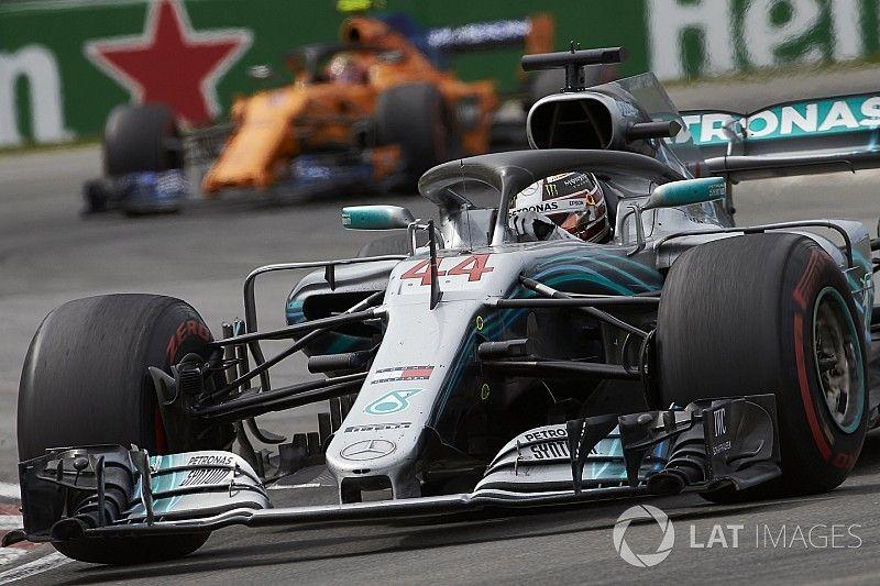Hamilton pensó que su motor se iba a romper en Canadá
