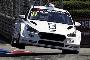 Portugal WTCR: Bjork rebounds from crash to take Sunday pole