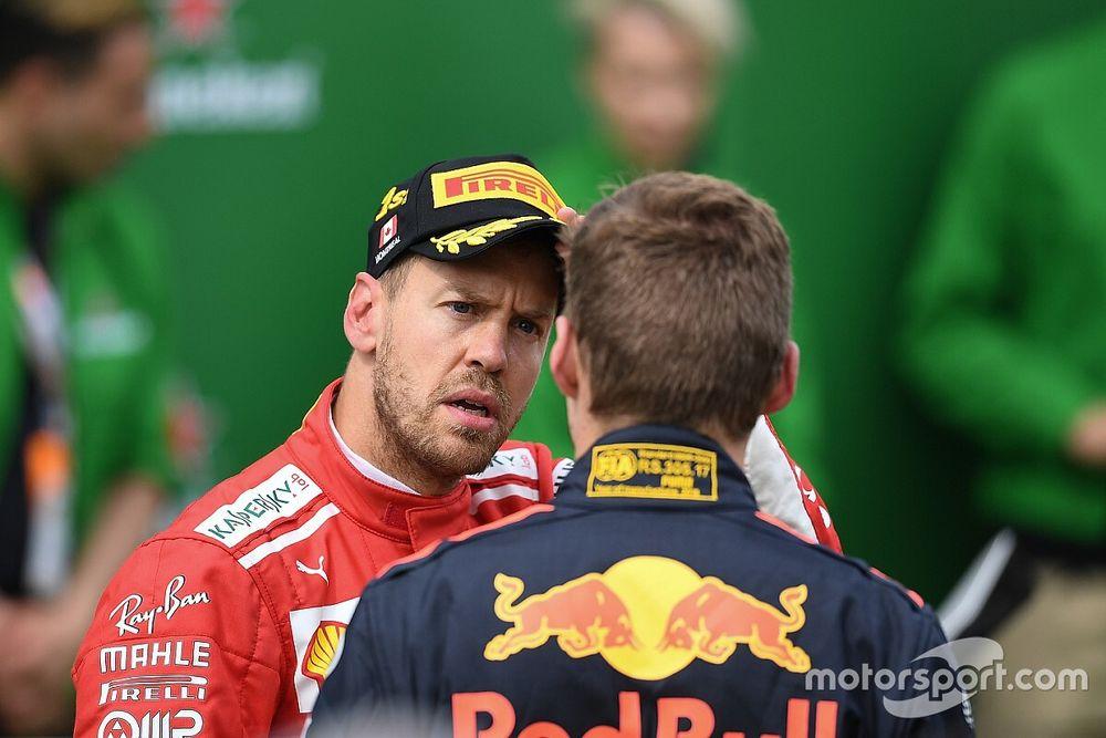 Vettel aura une discussion privée avec Verstappen