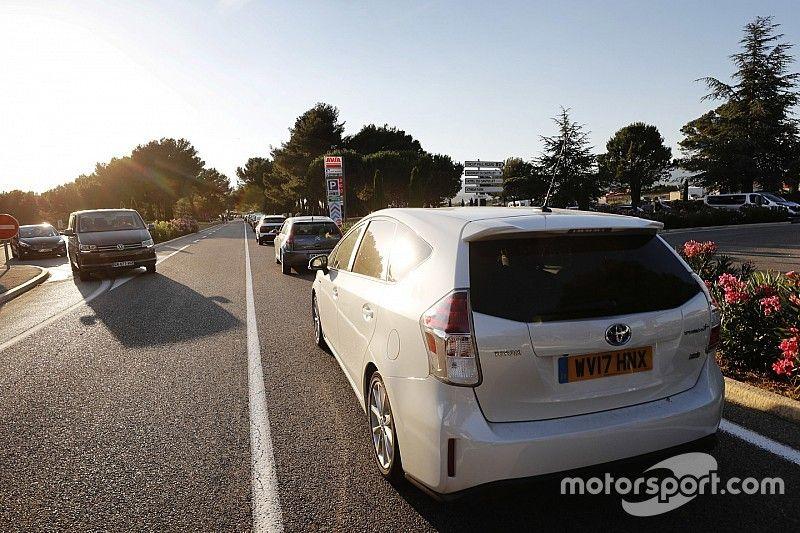 """Brawn belooft verbetering: """"Gaan verkeerssituatie GP van Frankrijk onderzoeken"""""""