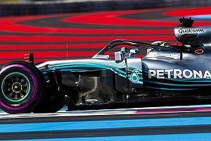 Hamilton dominó el viernes del GP de Francia en Paul Ricard