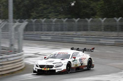 Norisring, Libere 1: di Resta guida la doppietta Mercedes di un soffio