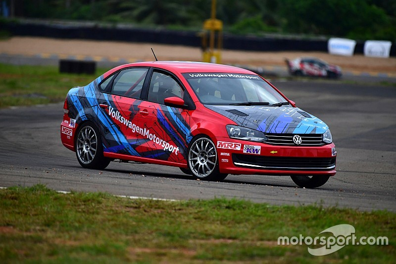 Volkswagen unveils TC4-A spec Vento race car