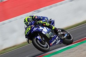 """Valentino Rossi glücklicher Dritter: """"Zwei, drei Zehntel zu langsam"""""""