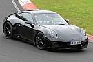 Auto La nouvelle Porsche 911 surprise au Nürburgring