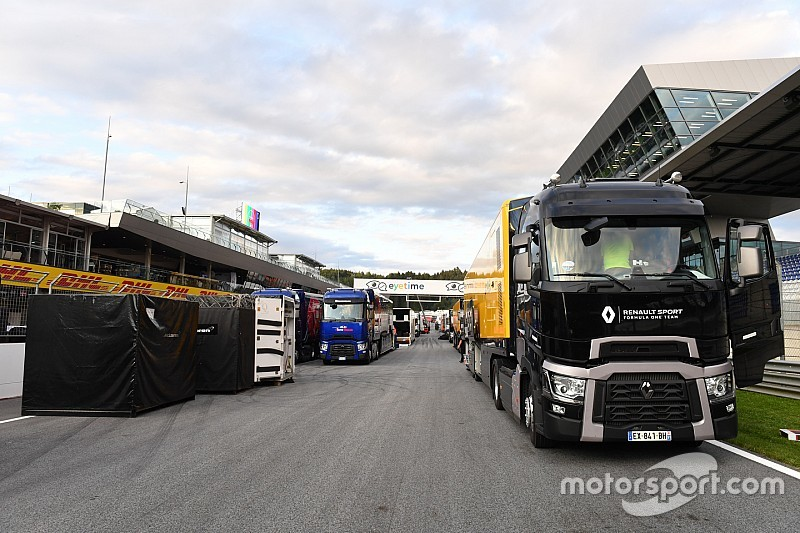 Renault issues F1 truck crash update
