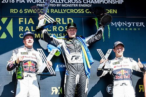 Sweden World RX: Kristoffersson scores third straight win