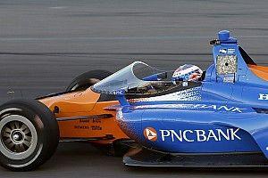 Vídeo y fotos: el Aeroscreen en el monoplaza de IndyCar