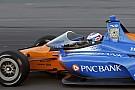 IndyCar ディクソン、シールド搭載で初走行「説明が難しい感覚」も概ね満足