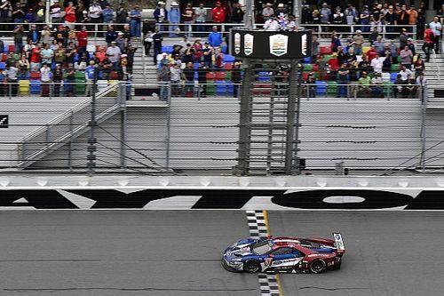 Daytona 24 Jam: Ford GT tidak tertandingi di GTLM
