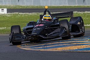 Chaves thrilled with Harding Racing's first roadcourse test