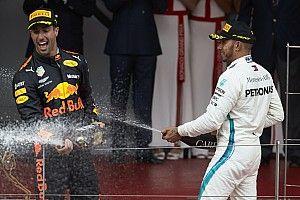 Gehalts-Boost: Hamilton wünscht Ricciardo Wertschätzung