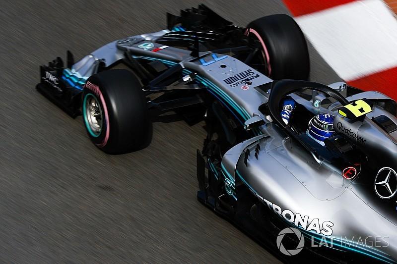 Mercedes, Pirelli testinin ilk gününü tamamladı