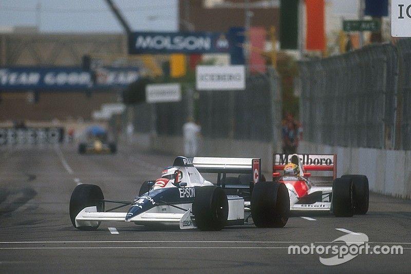 C'était un 11 mars : Alesi tient tête à Senna