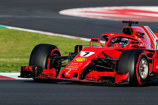 Raikkonen lidera última manhã em Barcelona; McLaren quebra
