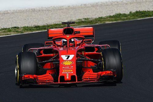 Raikkonen tops final morning, McLaren in trouble again