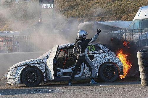 Andreas Bakkerud: Feuer-Unfall bei Testrennen in Belgien