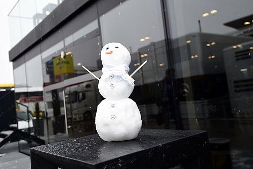 GALERIA: Veja imagens do Circuito de Barcelona sob a neve