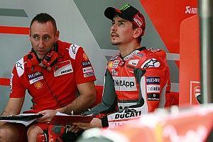 Lorenzo sebut sasis baru Ducati tak optimal